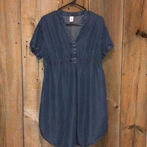 H&M MAMA denim dress size Small